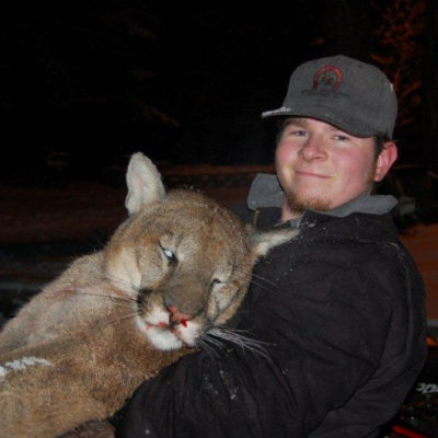 Record Book Mountain Lion taken in Idaho