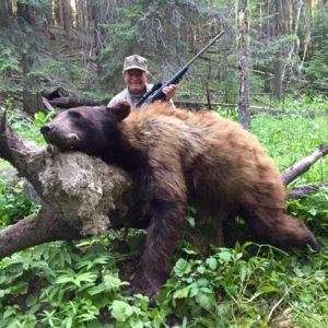 Black Bear Shot Placement