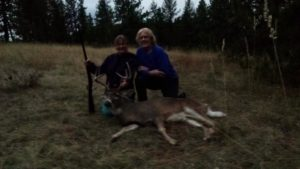 Private ranch whitetail hunt